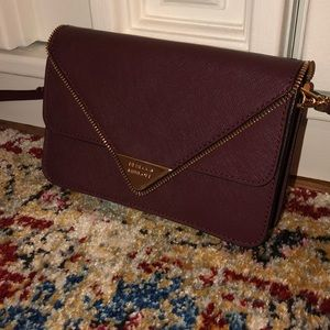 Rebecca Minkoff Burgundy Crossbody Bag